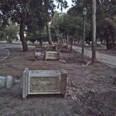 ¿El Parque Lezama clausurado?