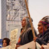 Acampe indígena y derechos humanos selectivos