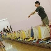 La frescura de los niños en la exposición de Francis Alys