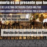 Marcha de las Antorchas en San Telmo