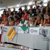8M: unidad y fuerza de mujeres en conferencia de prensa