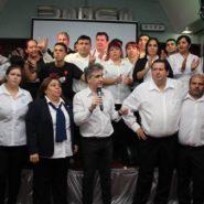 Exitosa cena solidaria en el Bauen de los trabajadores
