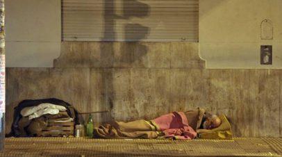 Personas en situación de calle. Al desamparo de la Ley