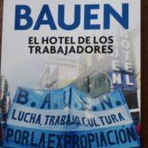 Bauen: La lucha de los trabajadores hecha libro.
