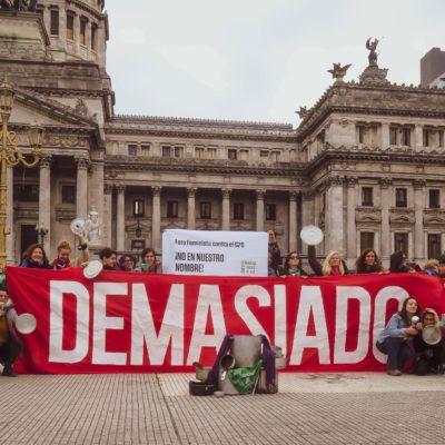 Mujeres, militarización y  G20