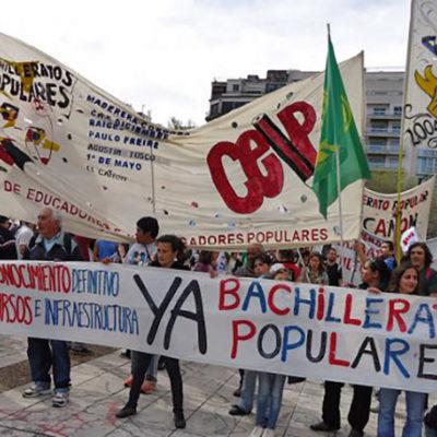 Movilización de los Bachilleratos Populares