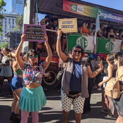 Voces afro silenciadas en la Marcha del Orgullo