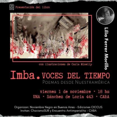 IMBA: Voces del tiempo de Lilia Ferrer
