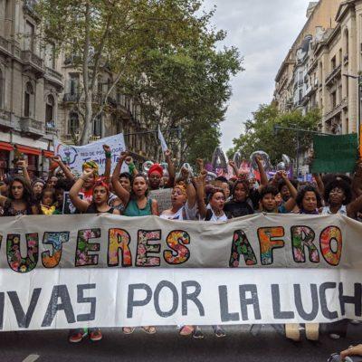 Mujeres AFRO: Vivas por la lucha.