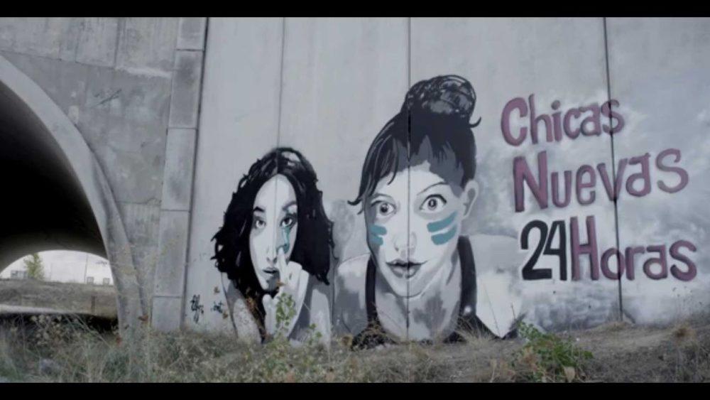 """Fotograma del documental """"Chicas nuevas 24 hs"""" de Mabel Lozano."""