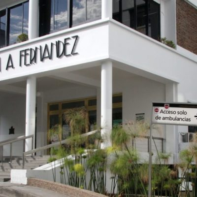Medidas de seguridad en el Hospital Fernández